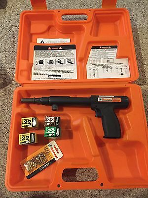 Ramset RS22 Trigger Activated .22 Caliber Powder Activated With Case