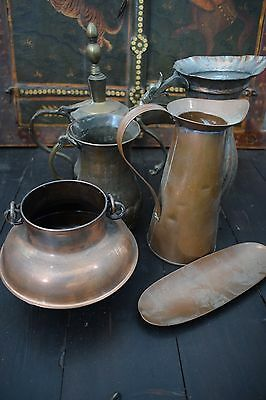 Joblot of antique metalwere
