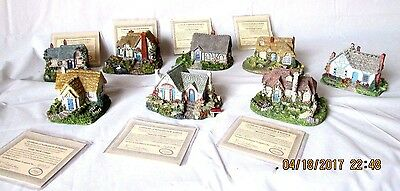 8 Thomas Kinkade Candlelight Cottage Series Collection COA Numbered Mothers Day