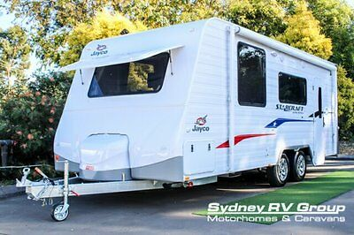 2016 Jayco Starcraft Limited Edition White Caravan