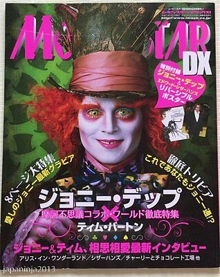 2010 MOVIESTAR DX Japan Movie Magazine Johnny Depp Includes Poster