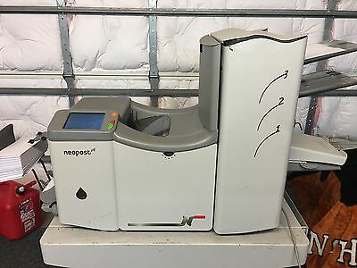 Neopost DS70 Folder Inserter Hasler M5000 Formax 261K cycles ~LOOK~