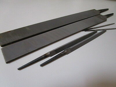 Metal Hand Files , New , Wiltshire/nicholson X 6 , New Old Stock.
