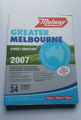Melway - Greater Melbourne - 2007