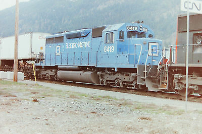 Cn, Cp Negatives, Fraser And Thompson Canyons, 1997