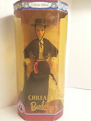 1997 CHILEAN Barbie #18559 Dolls of the World Collector Edition Mattel NIB