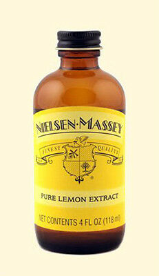 Nielsen-Massey Lemon Extract - Pure - 4 oz