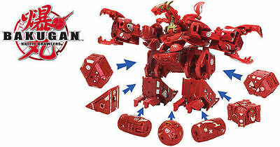 Bakugan 7 in 1 Maxus Dragonoid instructions and cards