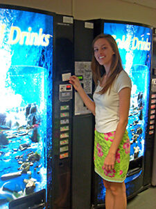 Get a Vending Machine installed and serviced in your workplace free of charge
