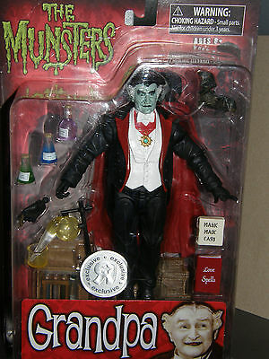 The Munsters  . .Grandpa . .     2011  action figure