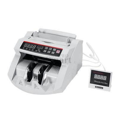 Money Cash Bill Counter Bank Machine Currency Counting UV & MG Counterfeit