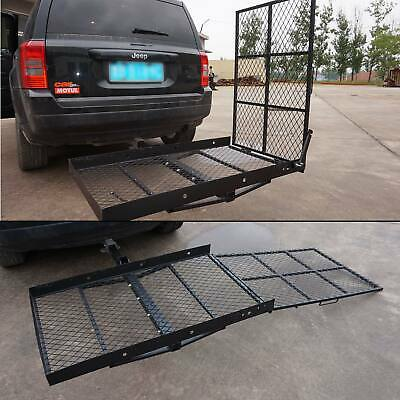 Wheel Chair Trailer Hitch Carrier Scooter Mobility Carrier Loading Ramp