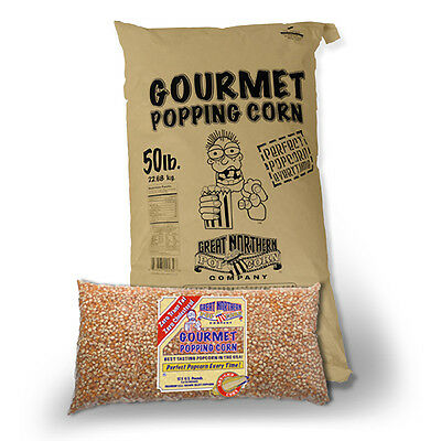 Great Northern Popcorn Yellow Gourmet Popcorn Bulk Bag Premium Grade, 50 Pound