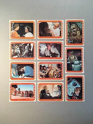 High-Grade 1977 Star Wars Stickers 45-55 / Complete Set 5 (Series 3 In Canada)