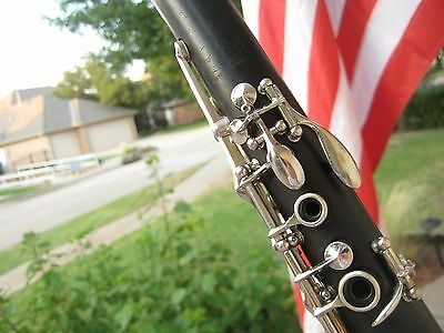 Clean/Fully Adjusted Buffet Evette Wood Clarinet France Pro Vandoren Mouthpiece
