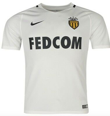 Nike AS Monaco Home Jersey White 2016 2017 Size L, XL or XXL new with tag