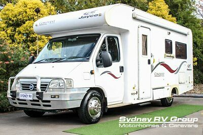 2006 Jayco Conquest 23/1 White A Motor Home