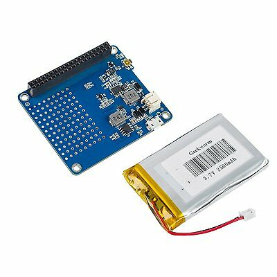 SunFounder Raspberry UPS HAT Board for Raspberry Pi 3 Model B, 2 Model B and B+