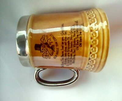 Vintage Lord Nelson Ware Large Tankard, Uncle Tom Cobley, Widecombe Fair