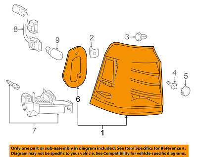 Lexus TOYOTA OEM 13-15 LX570 Combination Tail Lamp-Rear Lamps Right 8155160A70