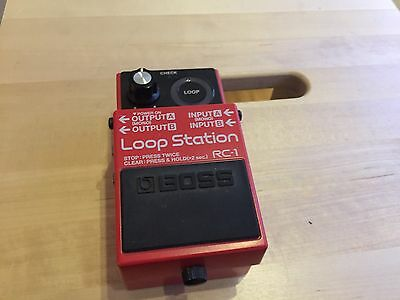 Boss RC1  Effect Pedal Looper