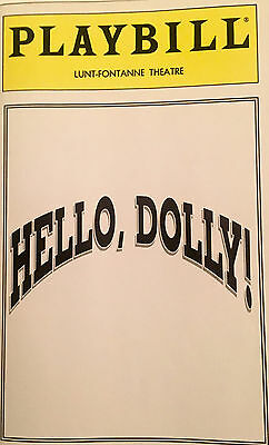 1995 HELLO DOLLY Revival Starring Carol Channing