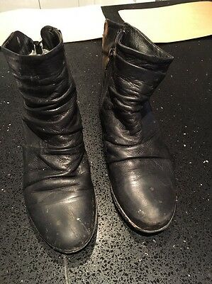 Ladies Boots Size Uk 5 Mode In Pelle