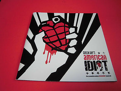 VERY RARE! Musical GREEN DAY'S american IDOT Japan Program Japanese brochure