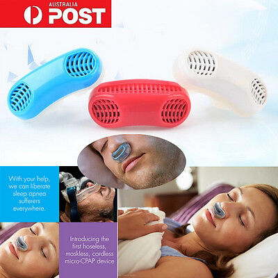 Silicone Anti Snore Nasal Dilators Apnea Aid Device Stop Snoring Nose Clip Hot B