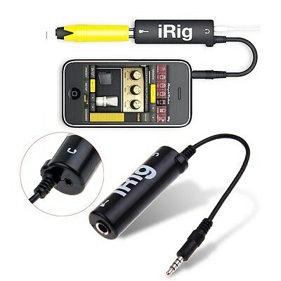 iRig Guitar Converter Guitar MIDI Interface For iPhone/iPad/iPod Easy To Use Hot