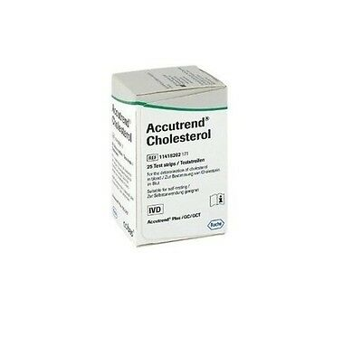 Accutrend Blood Cholesterol Test Strips Monitor Control Meter Monitoring Testing