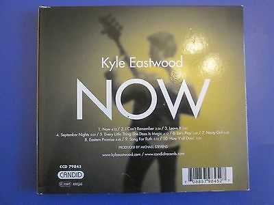kyle eastwood now. jazz cd vgc ex signed 10  tracks ccd 79845