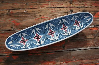 Elle Norway Hand Painted Pottery Dish