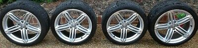 "Genuine Audi 19"" Segment Rs5 Rs6 Alloy Wheels And Tyres"