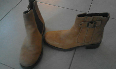bottines boots taille 38 camel