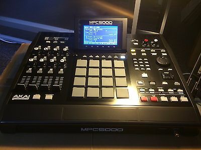 Akai MPC 5000 192MB Boxed, all original packaging, excellent