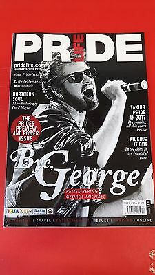 PRIDE LIFE GAY MAGAZINE SPECIAL GEORGE MICHAEL TRIBUTE. Issue 22, Spring '17
