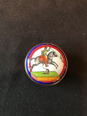 Halcyon Days Enamel Pill Box From The Robert Burns Heritage Collection.