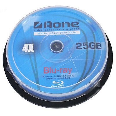 Bulk Buy Aone 4x Blu-Ray Full Face Printable BD-R 25GB - 600 Discs - Buy The Box