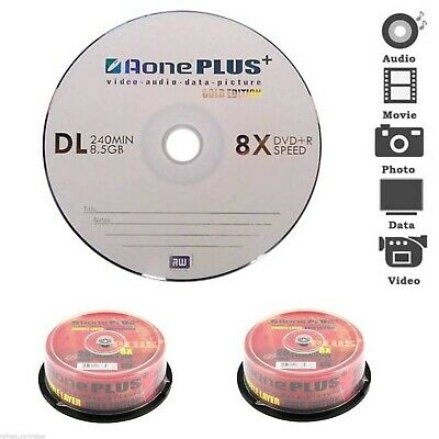 Bulk Buy Aone 8x DVD+R DL Dual Layer 8.5GB - 600 Discs - Buy The Box