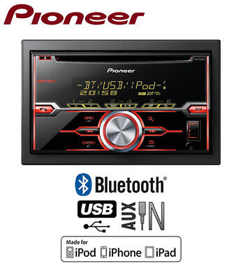Pioneer MVH-390BT car radio, MP3 USB AUX in Bluetooth stereo, Plays iPod iPhone