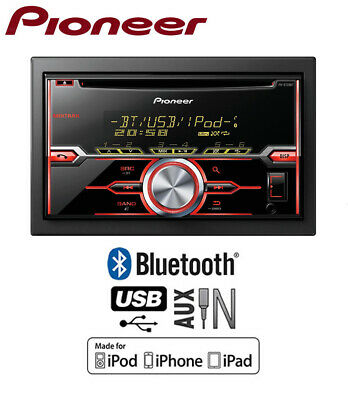 Pioneer MVH-X370BT car radio, MP3 USB AUX in Bluetooth stereo, Plays iPod iPhone