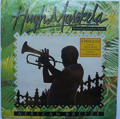 "Hugh Masekela - 4 Track E.p - African Breeze - Coal Train - 12"" Vinyl"