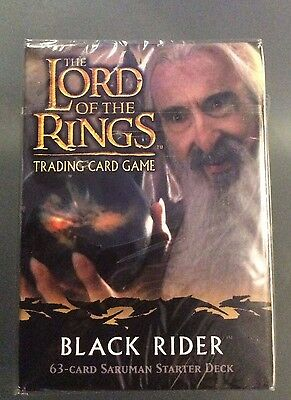 LORD OF THE Rings, Black Rider - Saruman, Starter Deck Sealed