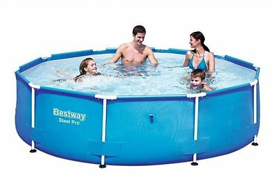 Bestway Frame Pool 'Steel Pro'  305 x 76 cm Schwimmbecken Swimmingpool (56406)