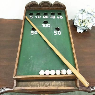 Game An Antique French Table Top Billiard - i064