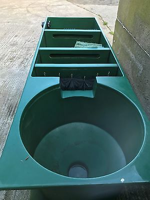 Multi Chamber Koi Pond Filter. Used Green Vortex Great Condition.