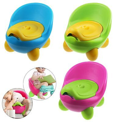 Kids Children Baby Toddlers Toilet Training Potty Seat Trainer Chair 2 in 1