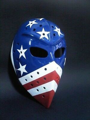 New york rangers vintage fiberglass hockey goalie mask