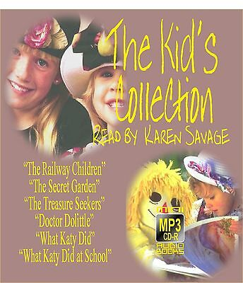 """The Kids Collection""  an MP3 CD by Mini Audio Books UK"